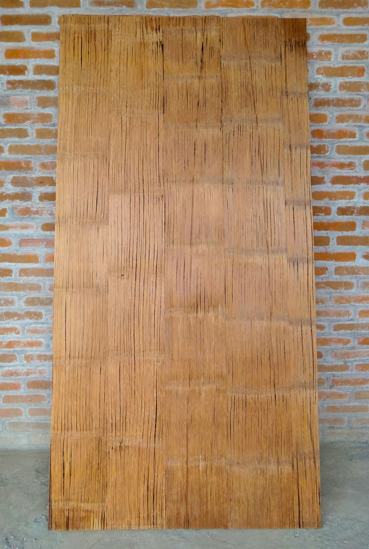 Crushed Bamboo Panel (Sanded)