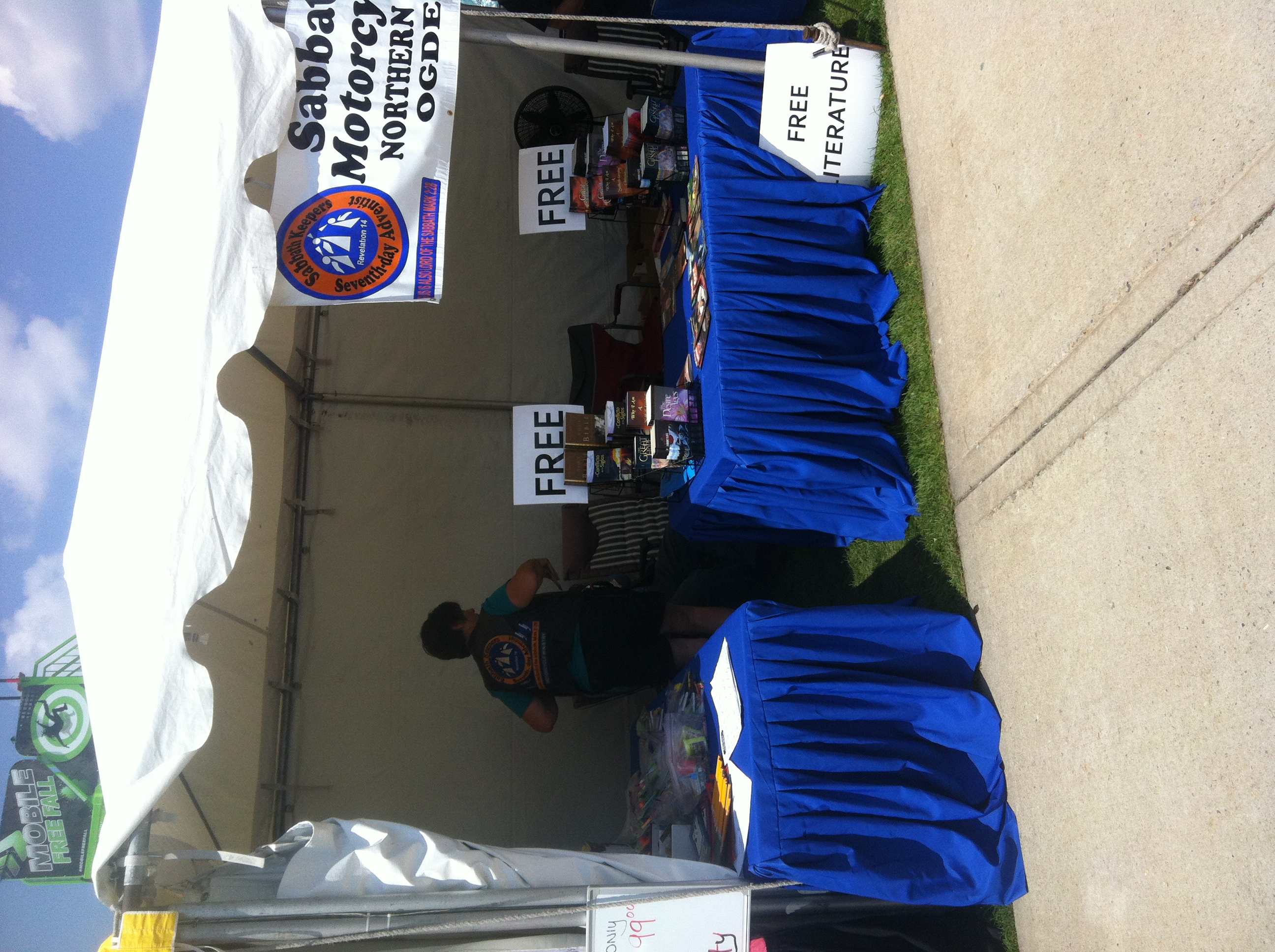 SKMM booth at the Weber County Fair in Ogden, Utah.