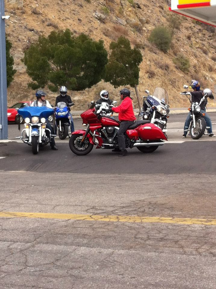 About to leave Kernville