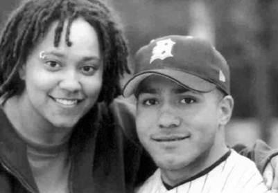 Natalie and her brother, Javair (2000)