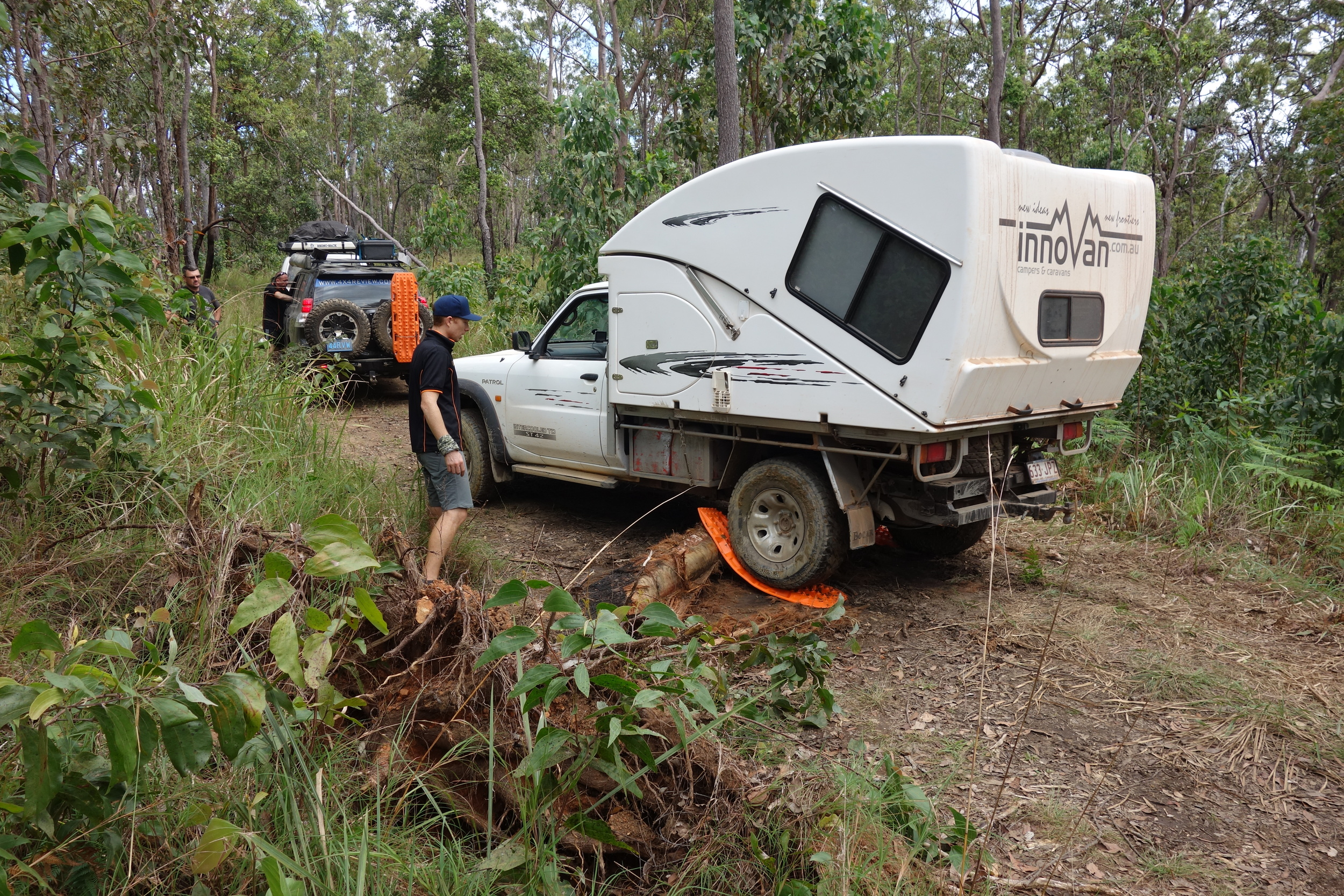 Innnovan XS and Maxtrax product testing in full swing - FNQ 2014