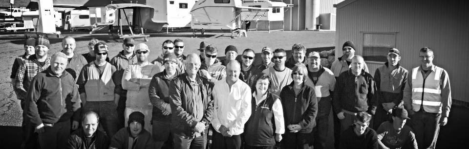 The team from Penguin Composites