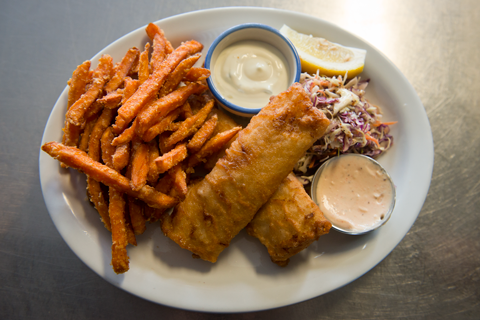 Ovens Natural Parks's signature fish and chips!