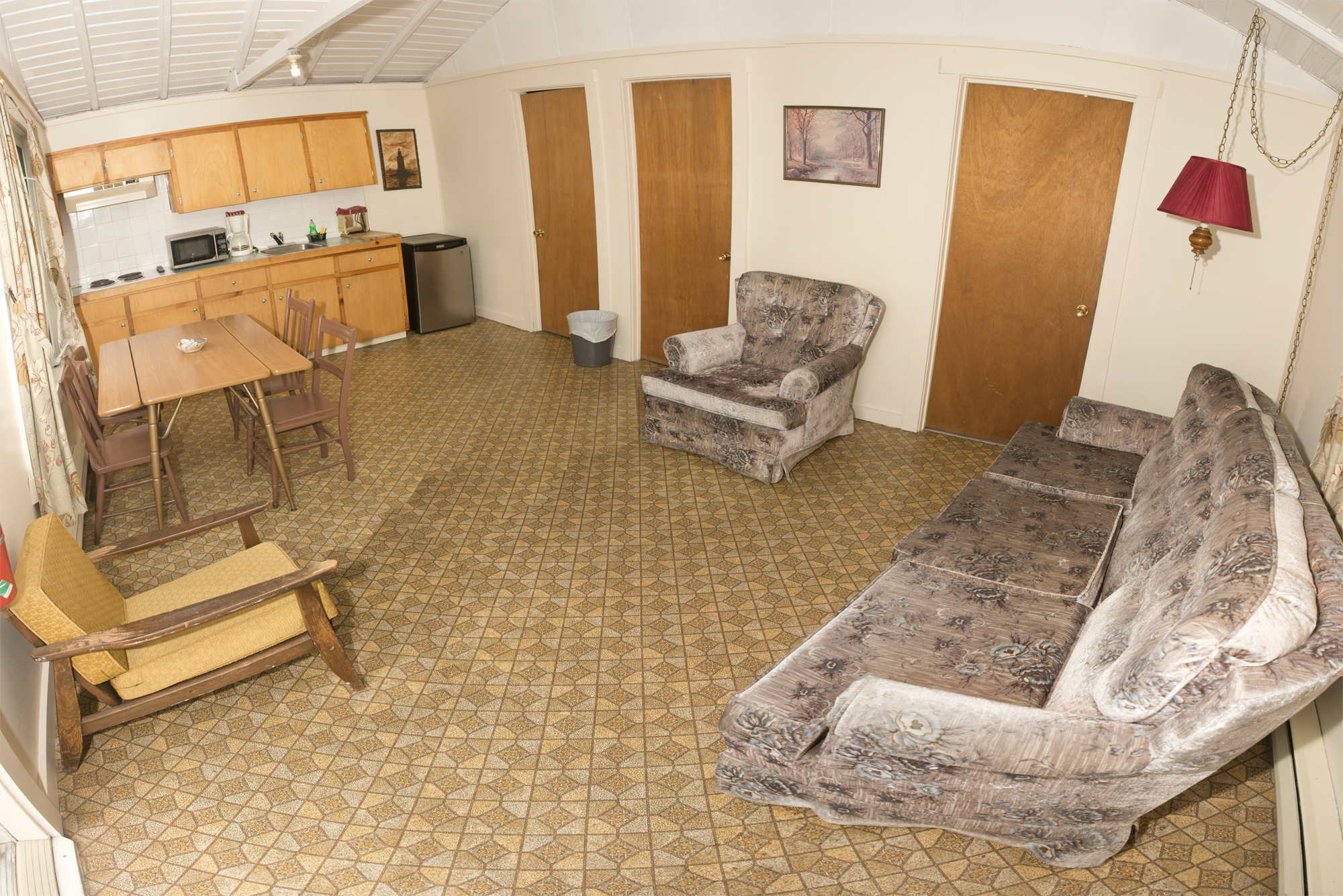 Cabin #3 - Main Interior Panorama