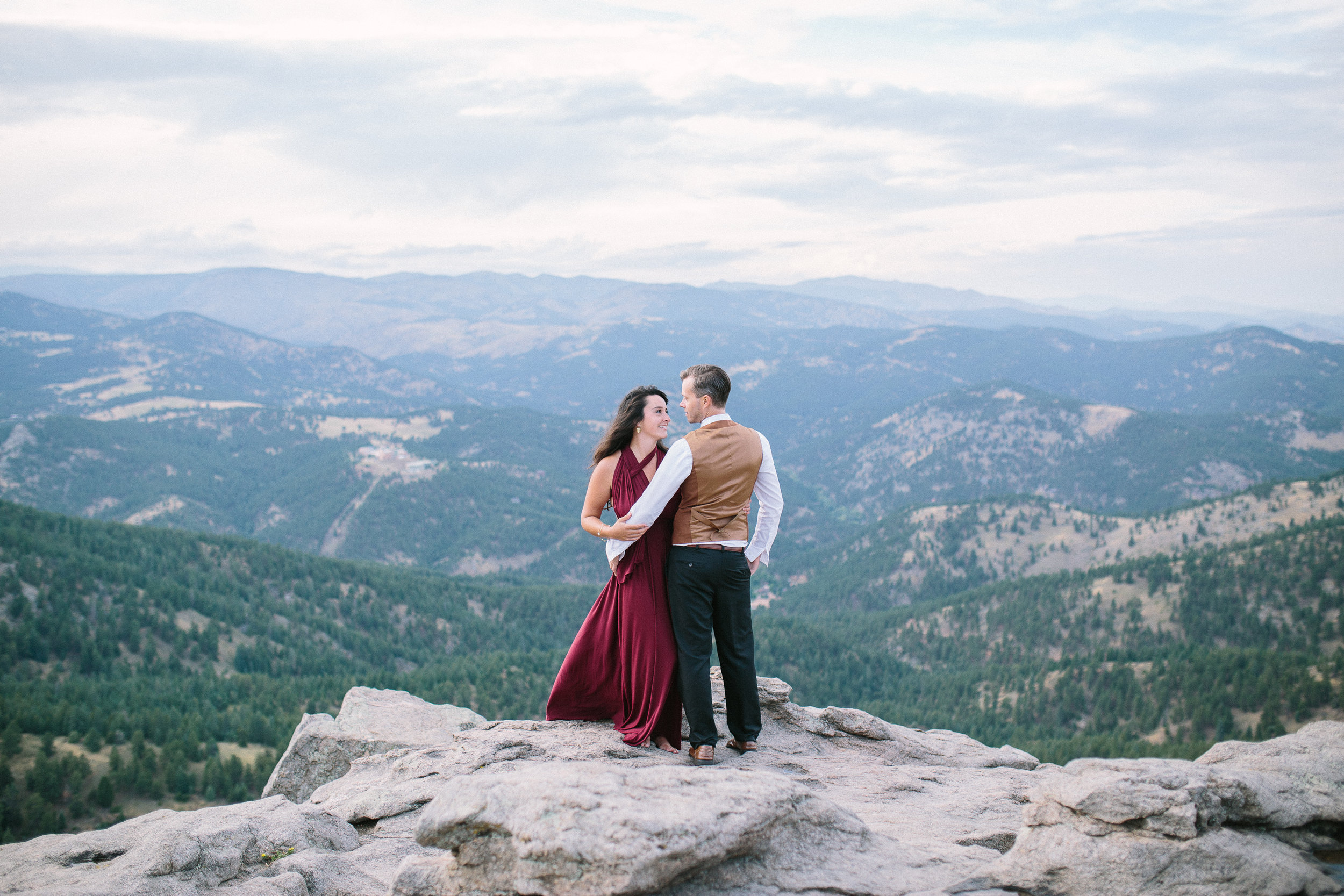 lost gult lookout engagement session ellen ashton photography