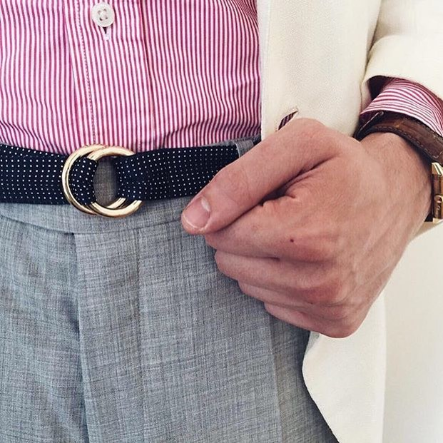Shout out to @fri.wi for rocking his VARLET belt, very seasonally appropriate sir 👏👏