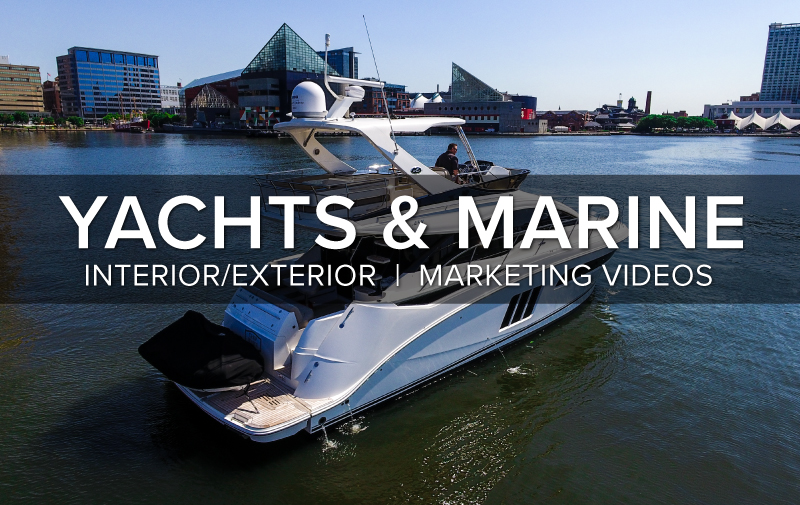 Yacht and Marine Aerial Photography