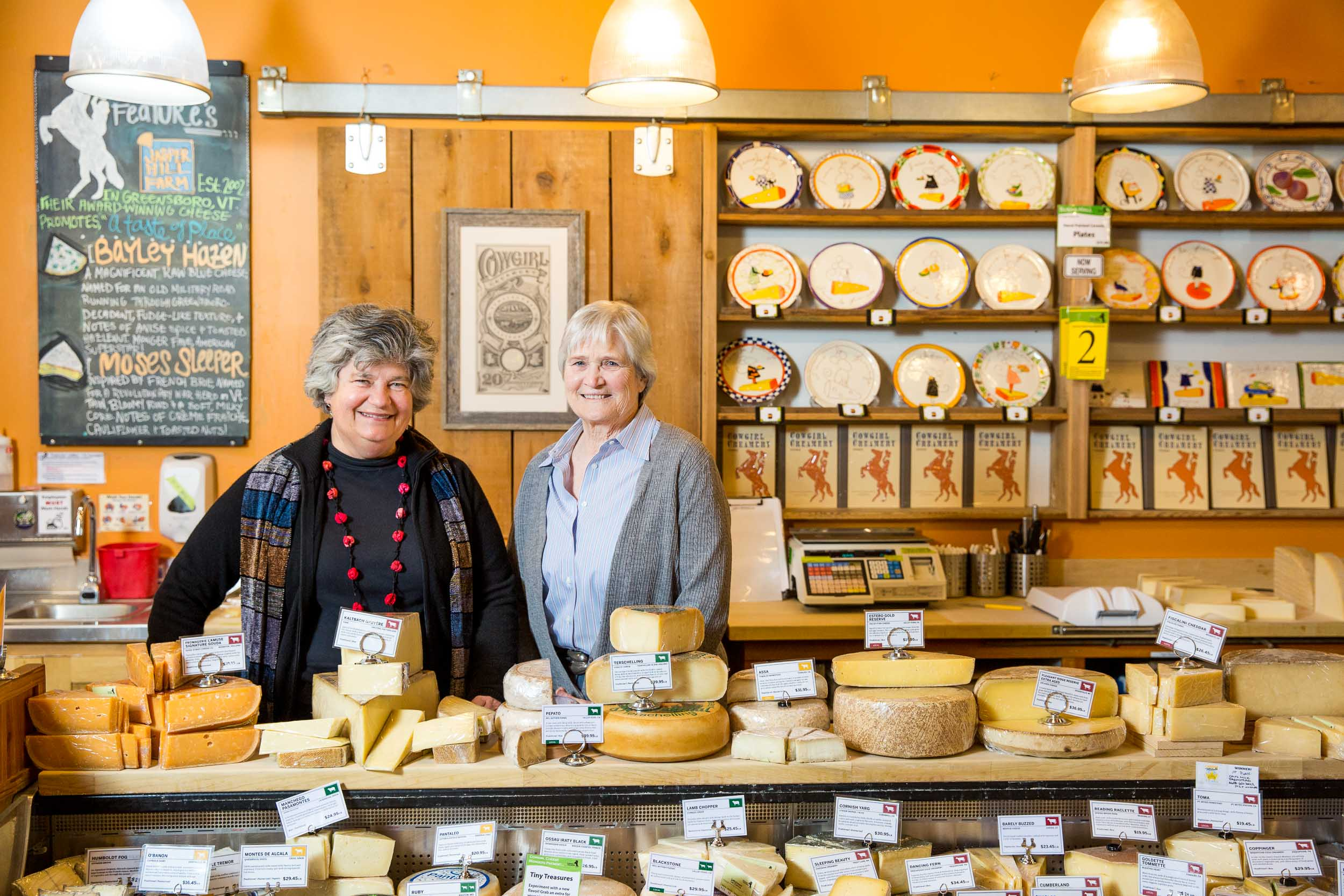 Cowgirl Creamery - Peggy Smith and Sue Conley - for Wine Spectator Magazine