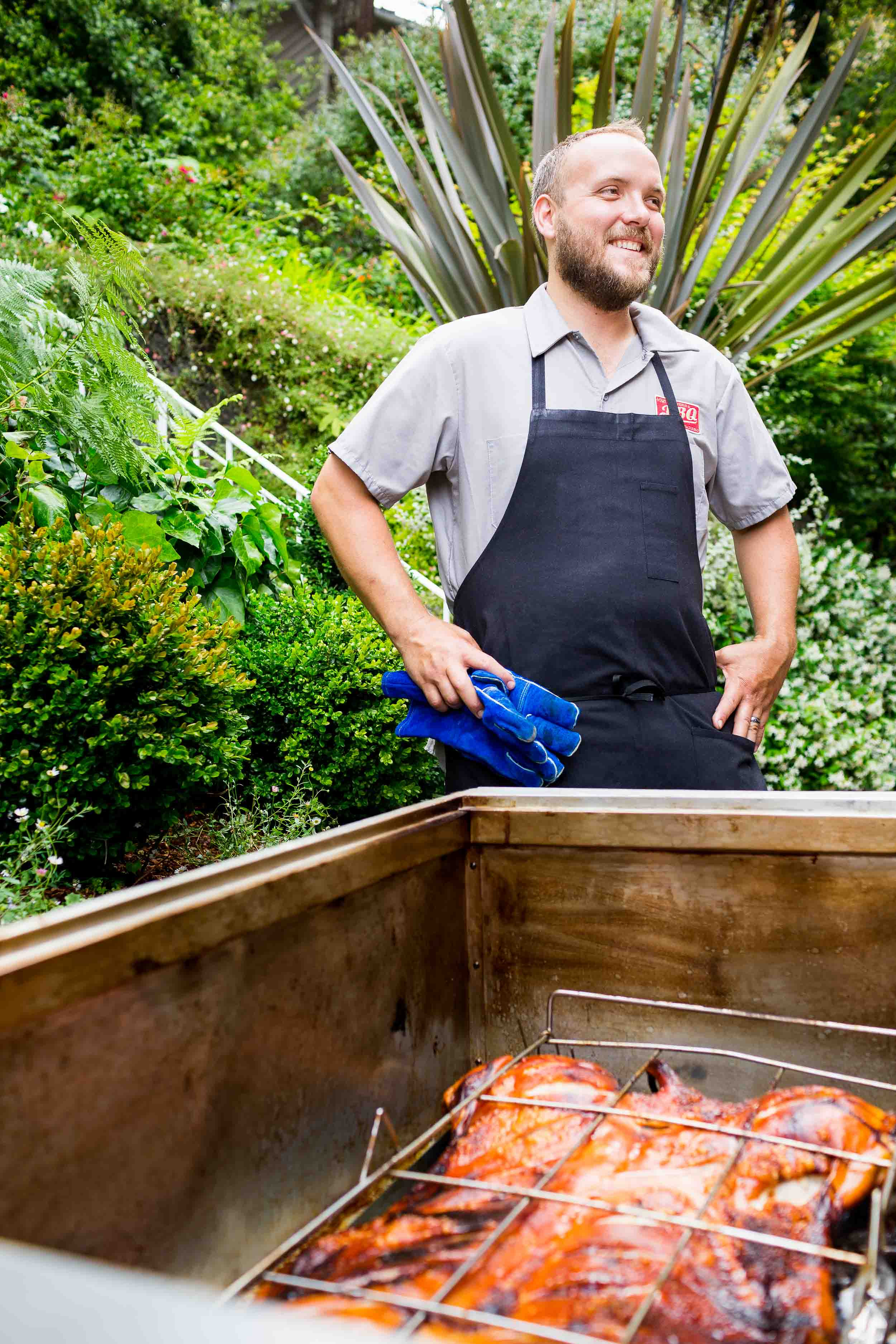 Images of Edible Marin and Wine Country party at Gibson and Gardner's house in Mill Valley.