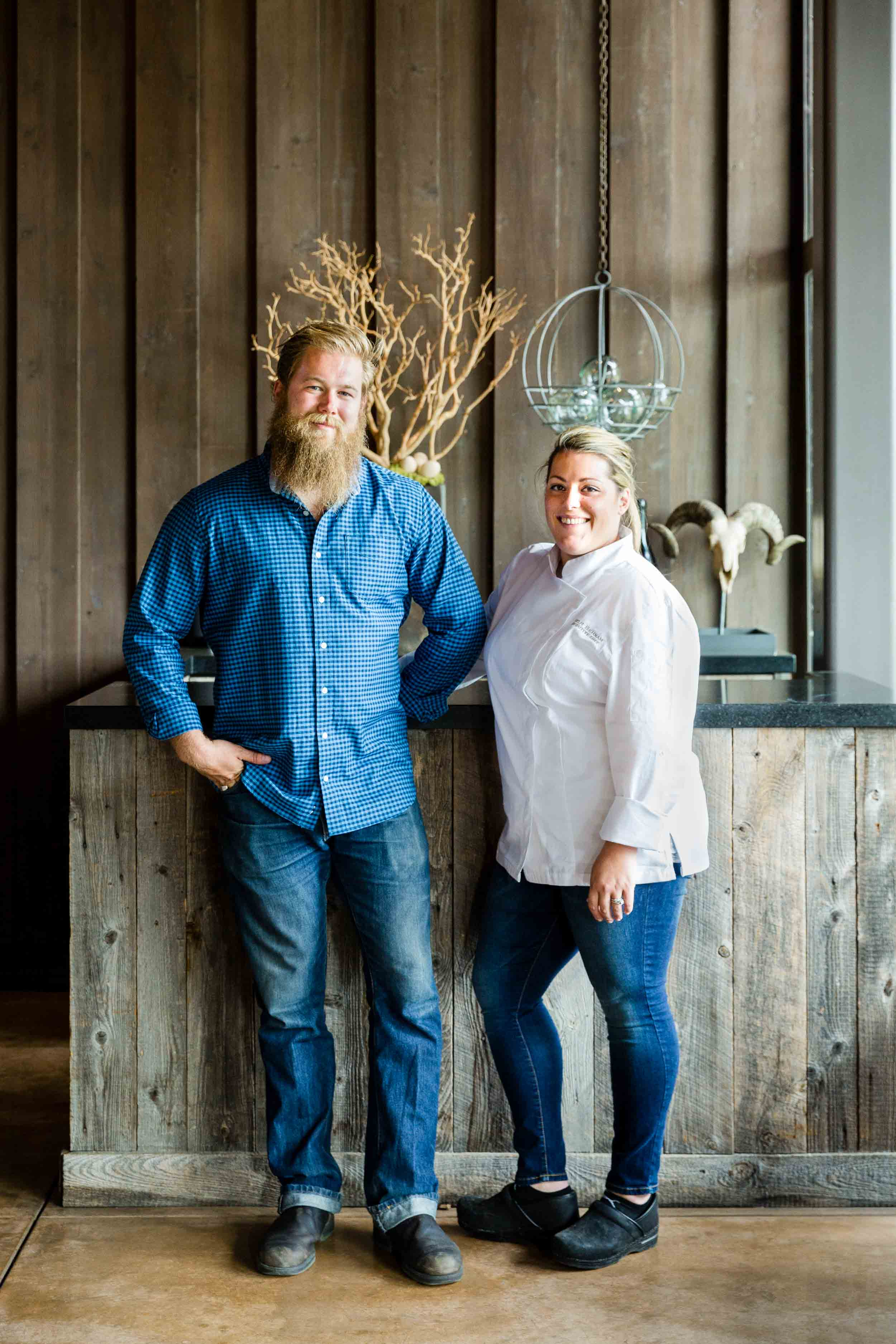 Ram's Gate winery, and Chef Talyr Benham create food and wine in Sonoma County's wine country.