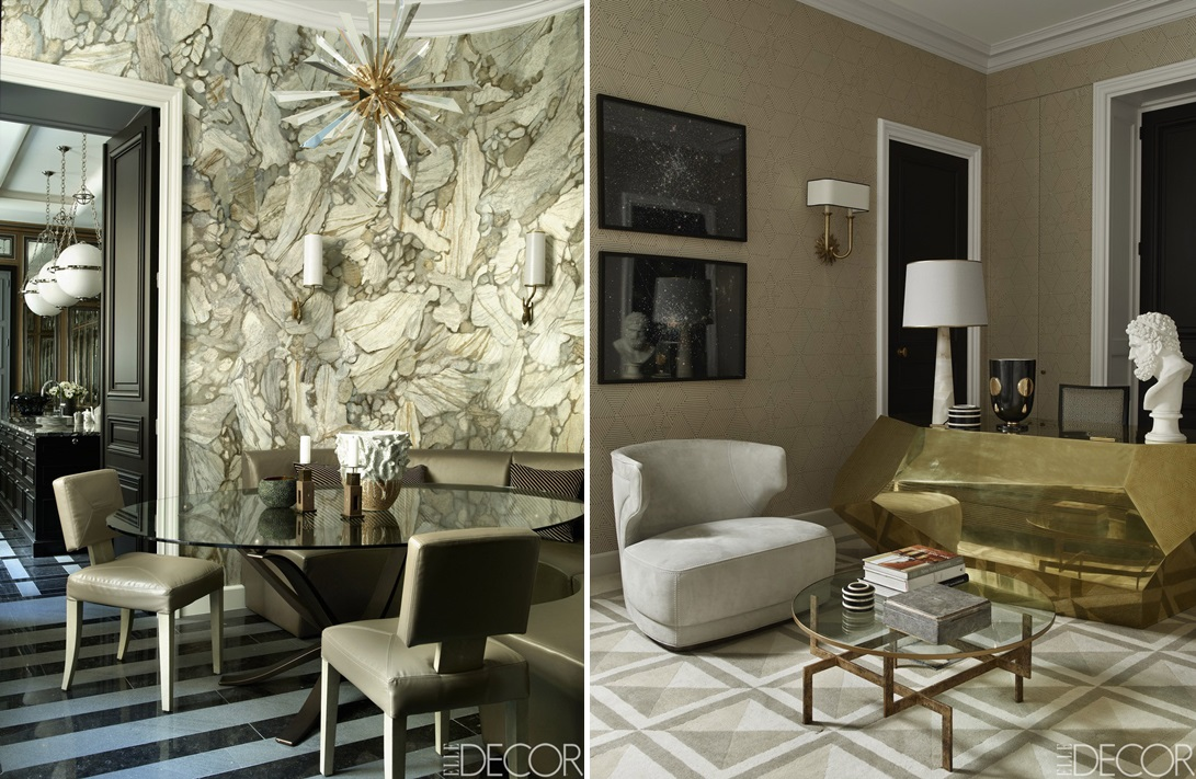 Design by Jean-Louis Deniot, as featured in Elle Decor.  Photography by Simon Upton.