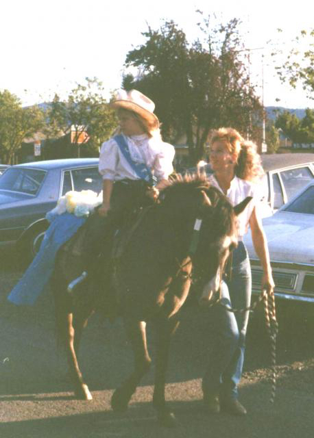Rachael and Blue, 1988 Photo Credit S. Theide