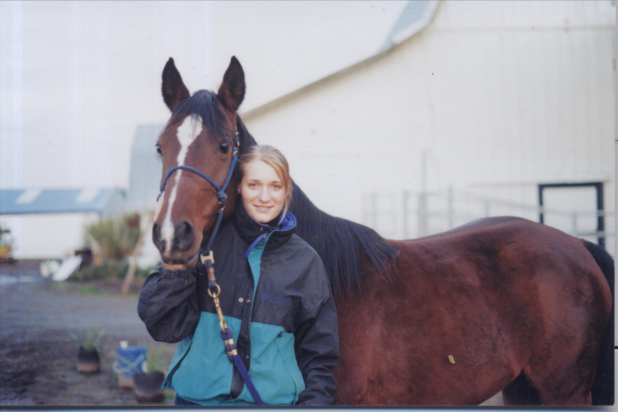 Rachael and Fatima, 1999 photo credit T. Stollenwerk