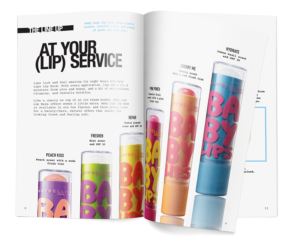 Maybelline Babylips guideline