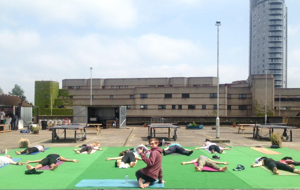 Rooftop Yoga Croydon 2, South London, The Yoga Edge