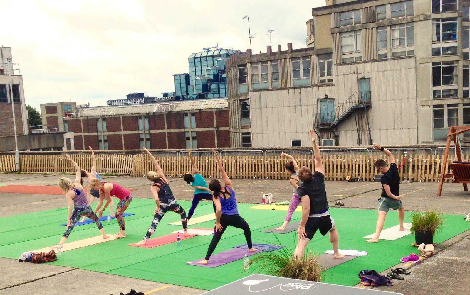 Rooftop Yoga Croydon 4, South London, The Yoga Edge
