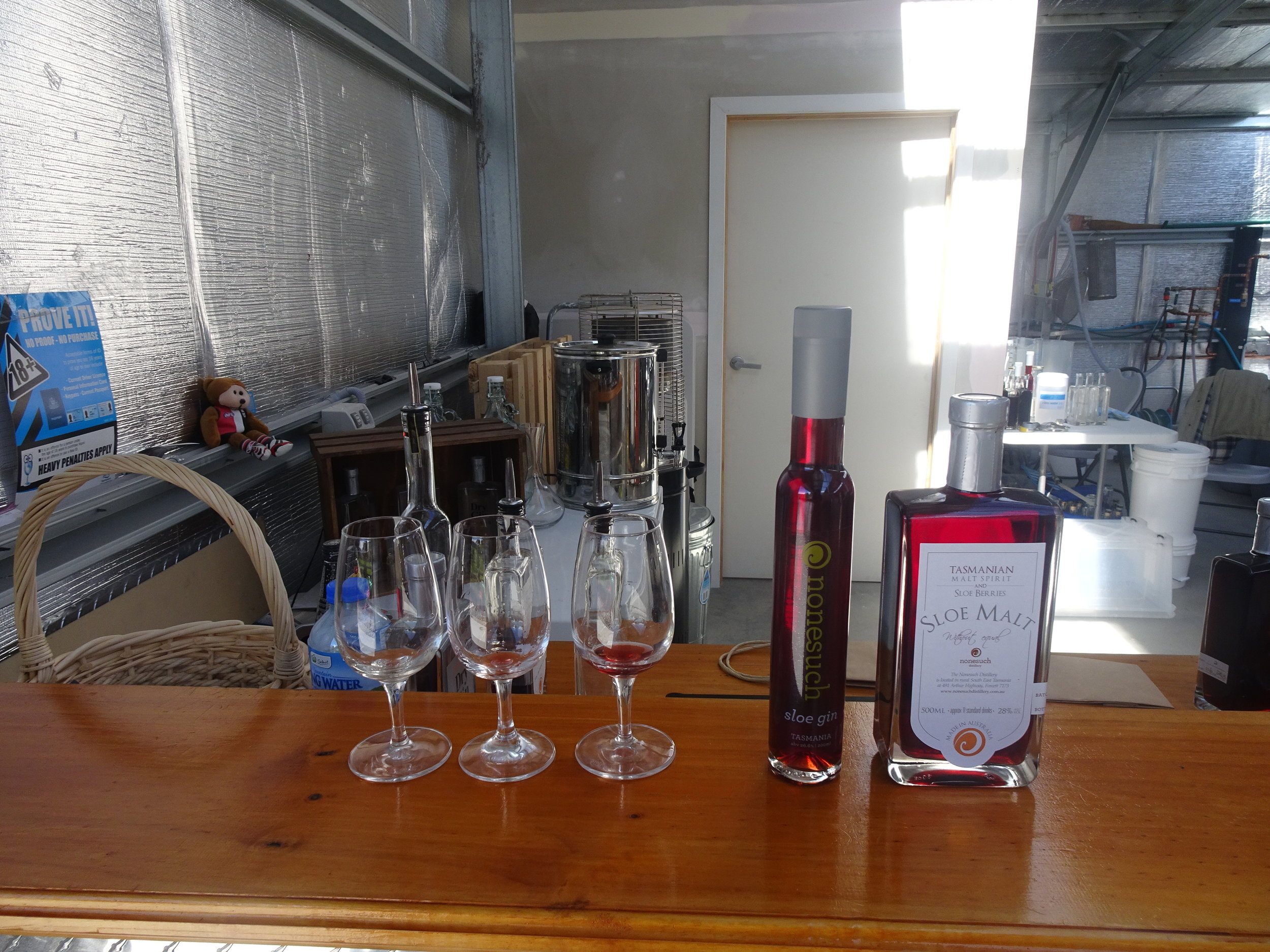 Nonesuch sloe gin and malt