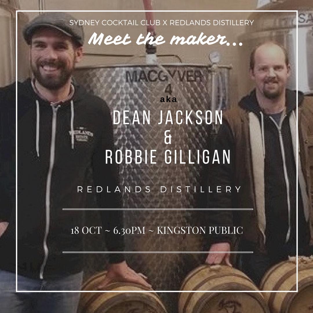 Meet the Maker Redlands Distillery