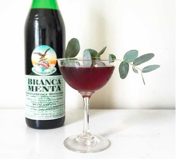 Head over to Matt's Instagram for more inspiration. Branca Menta Day kicks off on 2 December 2017 so make a cocktail featuring Fernet Branca Menta and stick it up on Insta! The above is Matt's contribution; a delicious mix of Banks rum, Branca Menta, Belsazar sweet vermouth and maraschino liqueur...garnished with an Aussie twist - the eucalyptus branch!