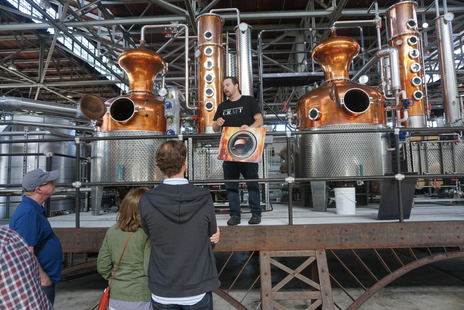 St George Distillery tour