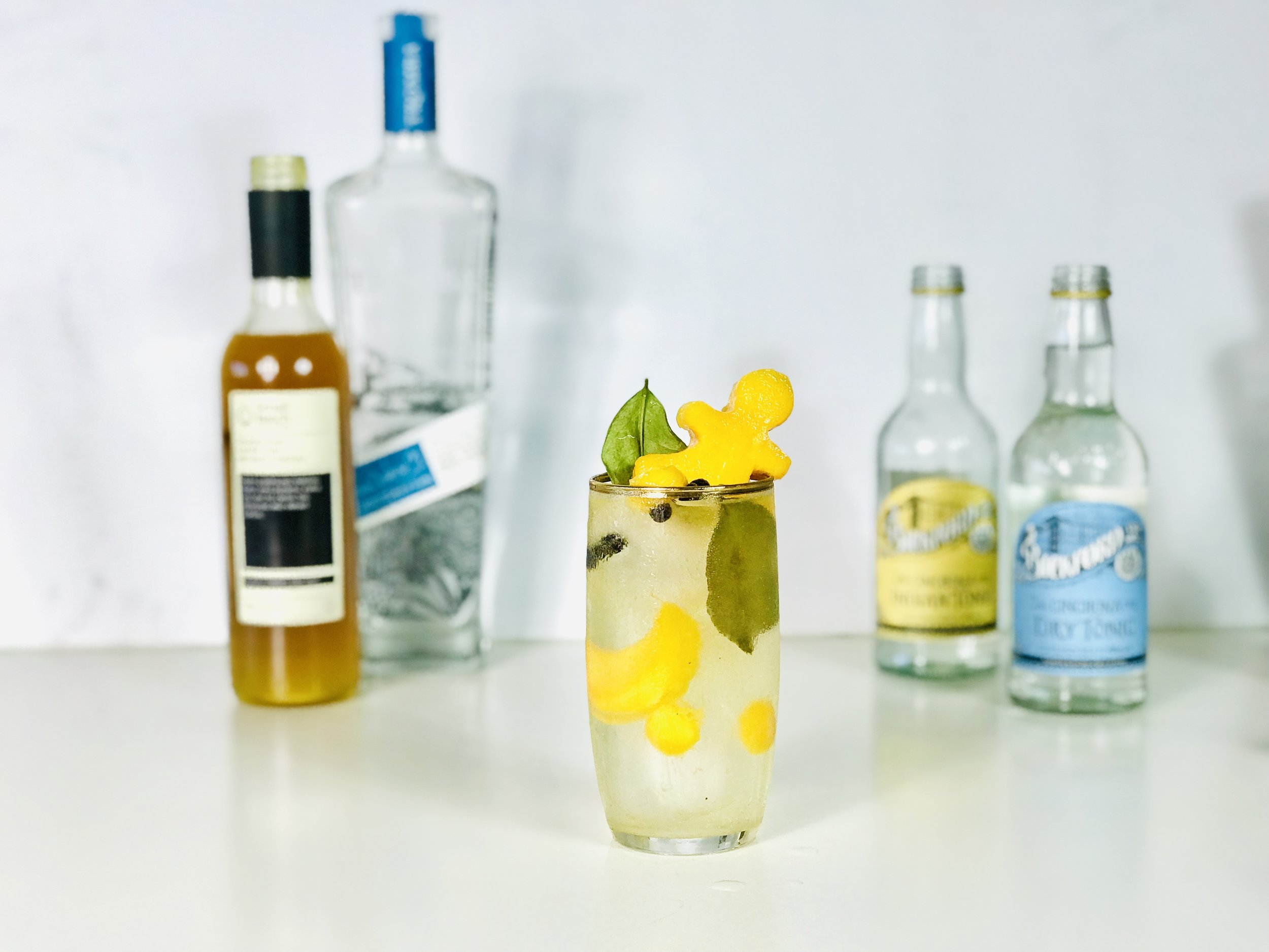Mango, rum combine with black pepper and tonic