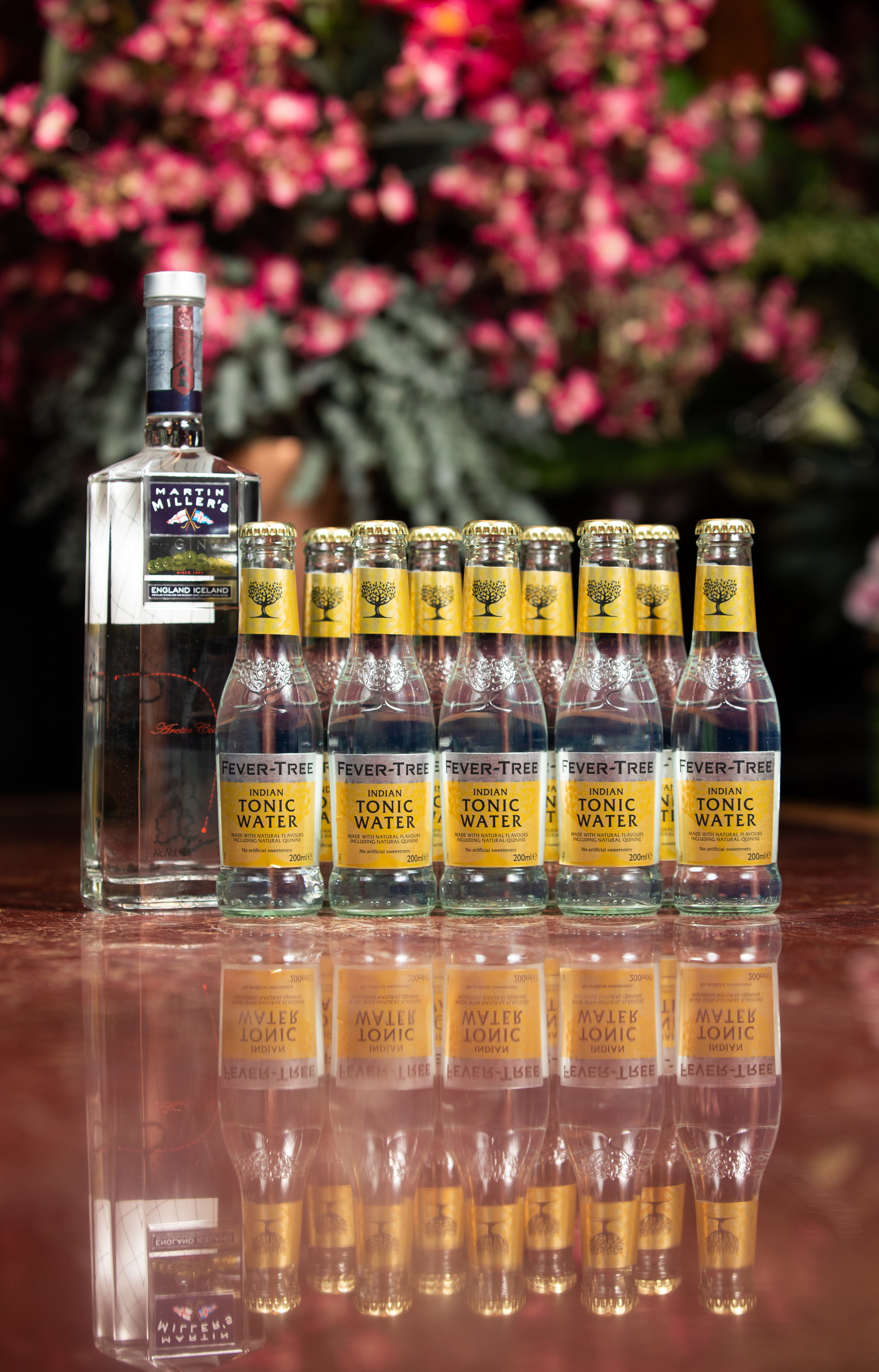 Martin Miller's Gin and Fever Tree tonic. Source: Supplied
