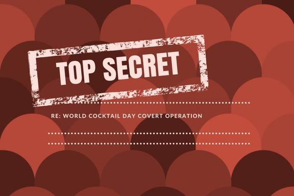 Secret Cocktail Club pop up bar in Sydney