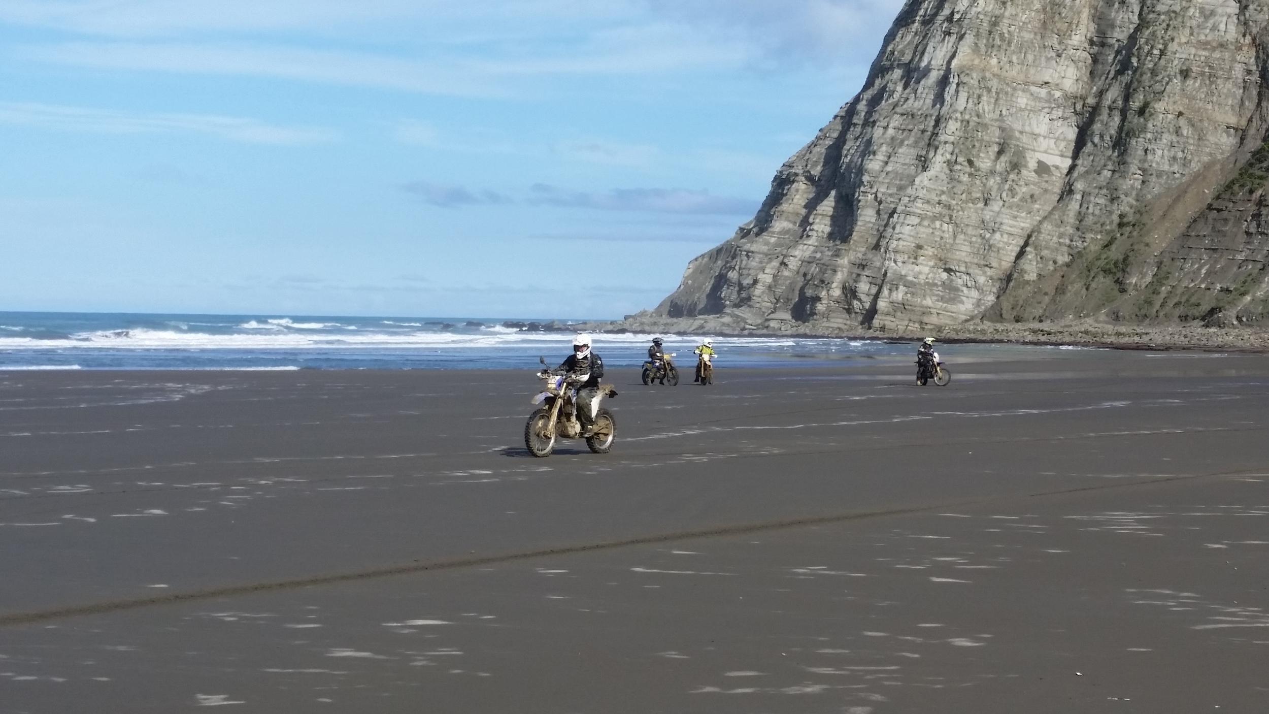 Beach riding on the east coast