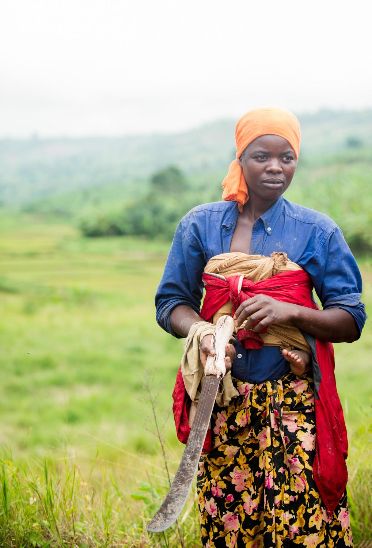 Rwandan Women Farmers