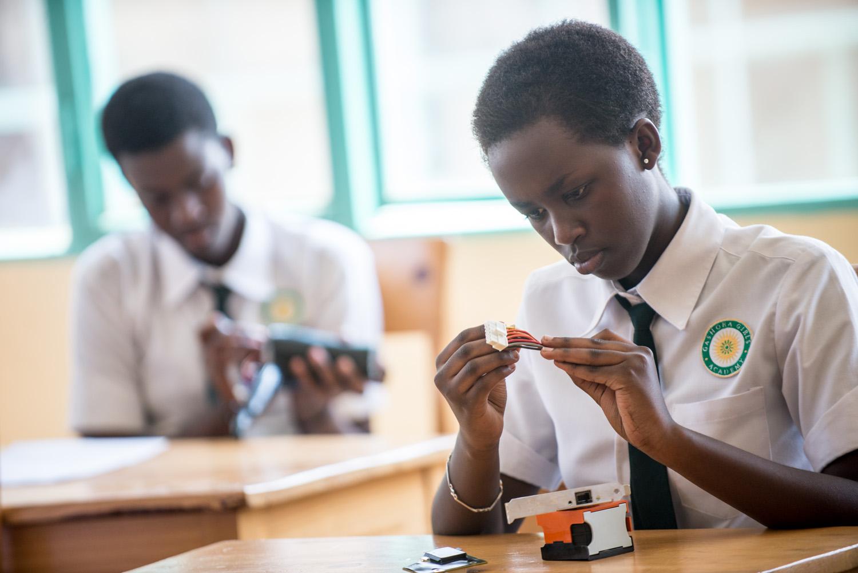 Recruiting Rwandan Girls to S.T.E.M