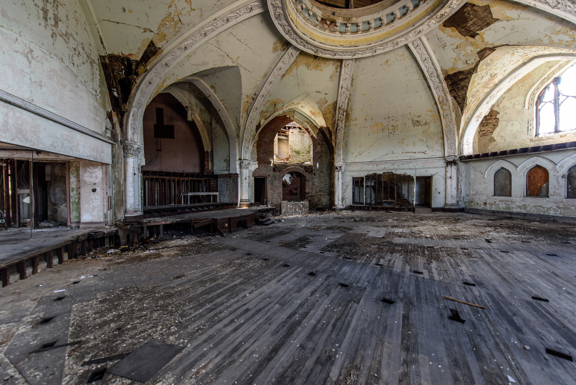 I can see this church filled and the people who were once here worshiping.