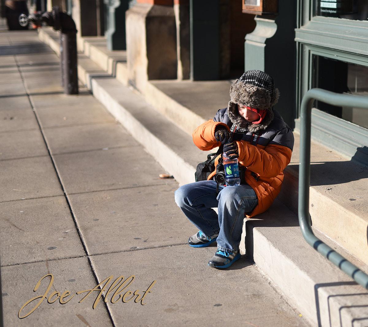 A photographers job isn't easy!