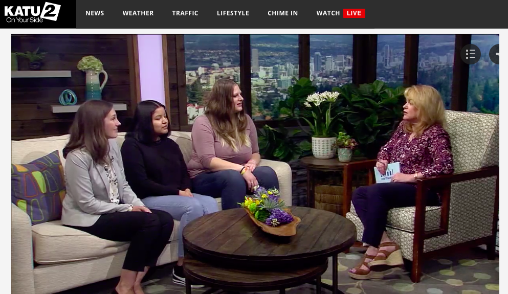 KATU AMNW Feature Our Interns, May 2019