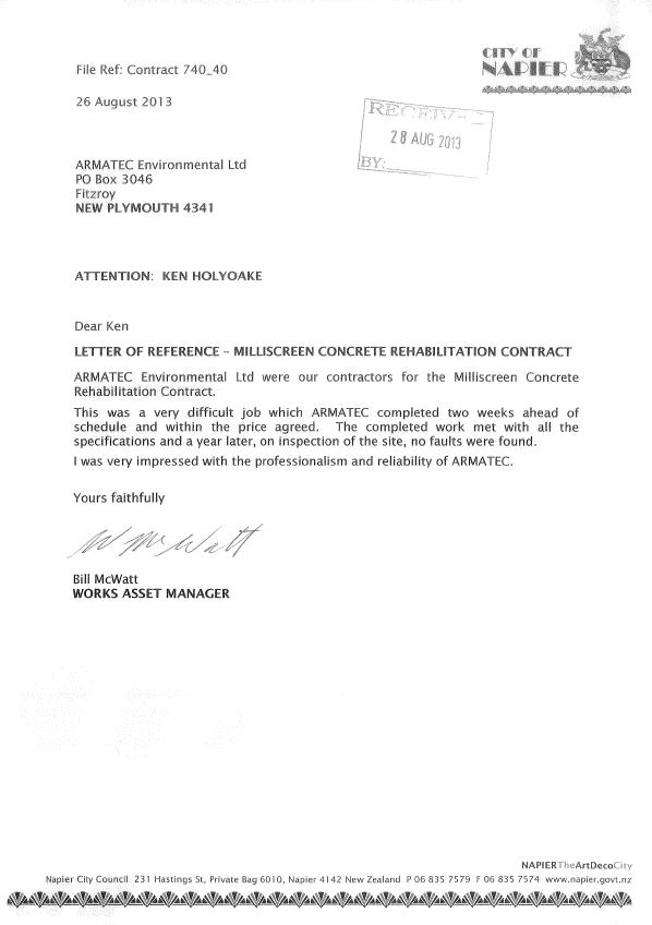 Napier City Council Testimonial