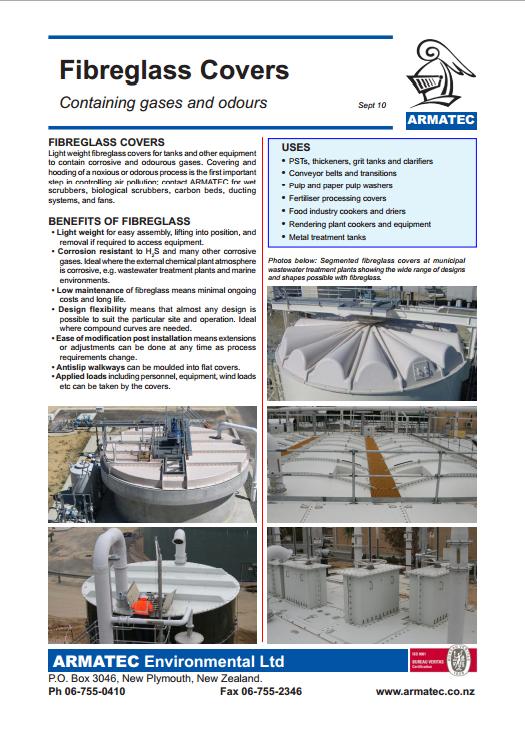 Download the Fibreglass Covers Handbook