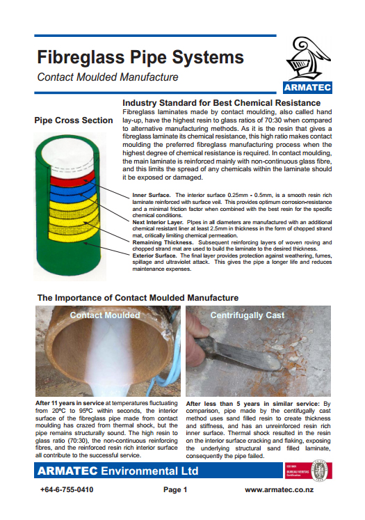 Download the Fibreglass Pipe Systems Handbook