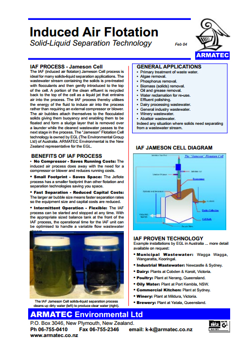 Download the IAF/DAF Solid Separators handbook