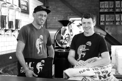 Vernon & John - our Roastery team.