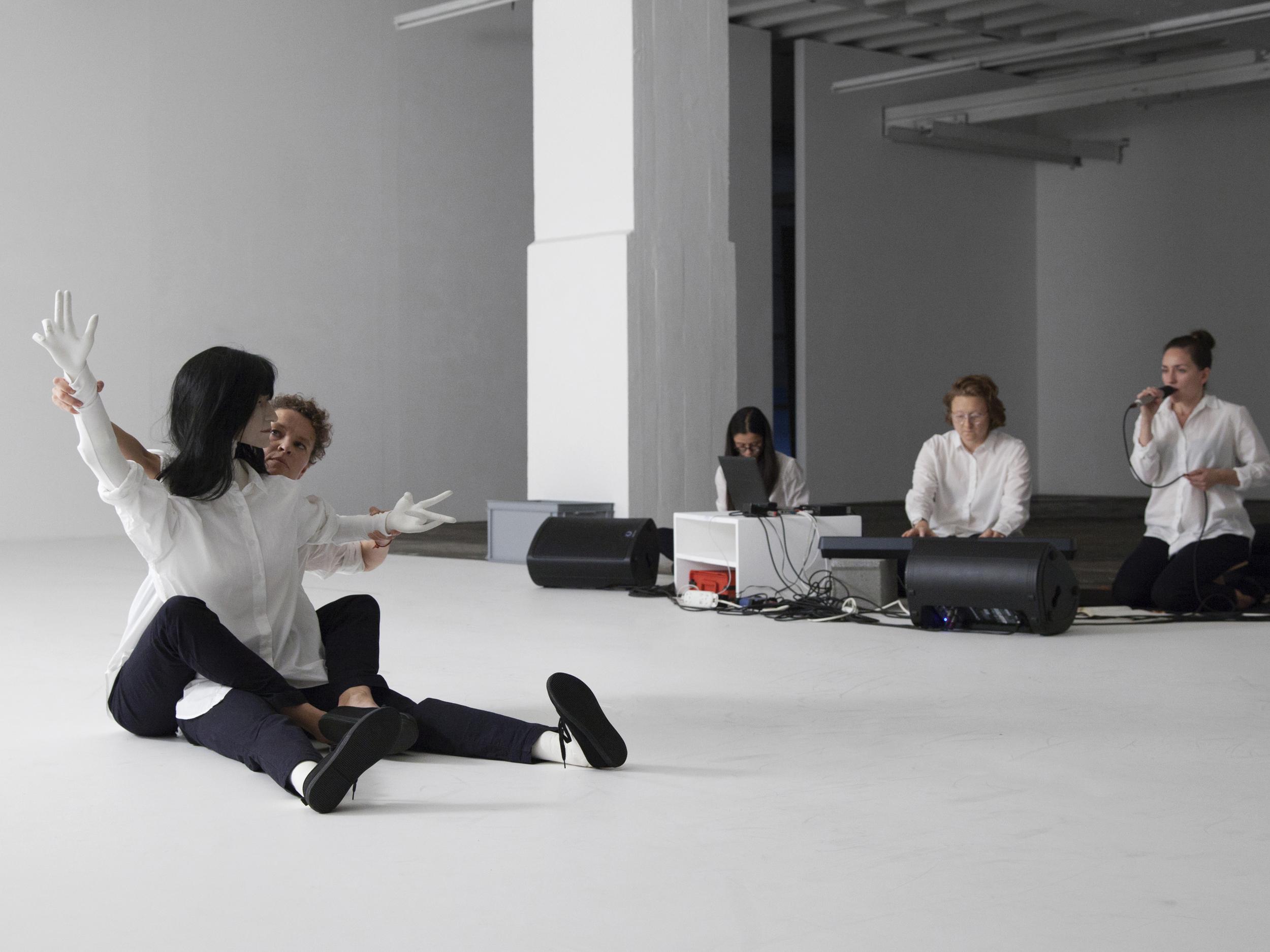 Mai-Thu Perret   Figures   Biennale de l'Image en Mouvement, Geneva   2014