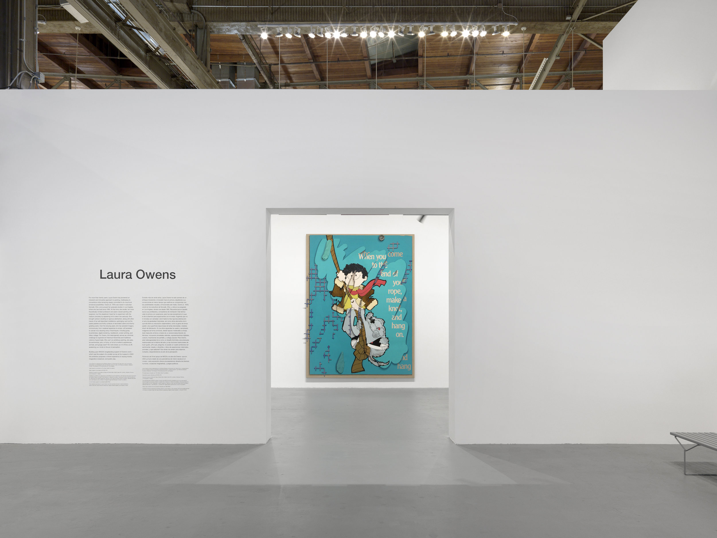 The Geffen Contemporary at MOCA - Los Angeles | Laura Owens | 2018