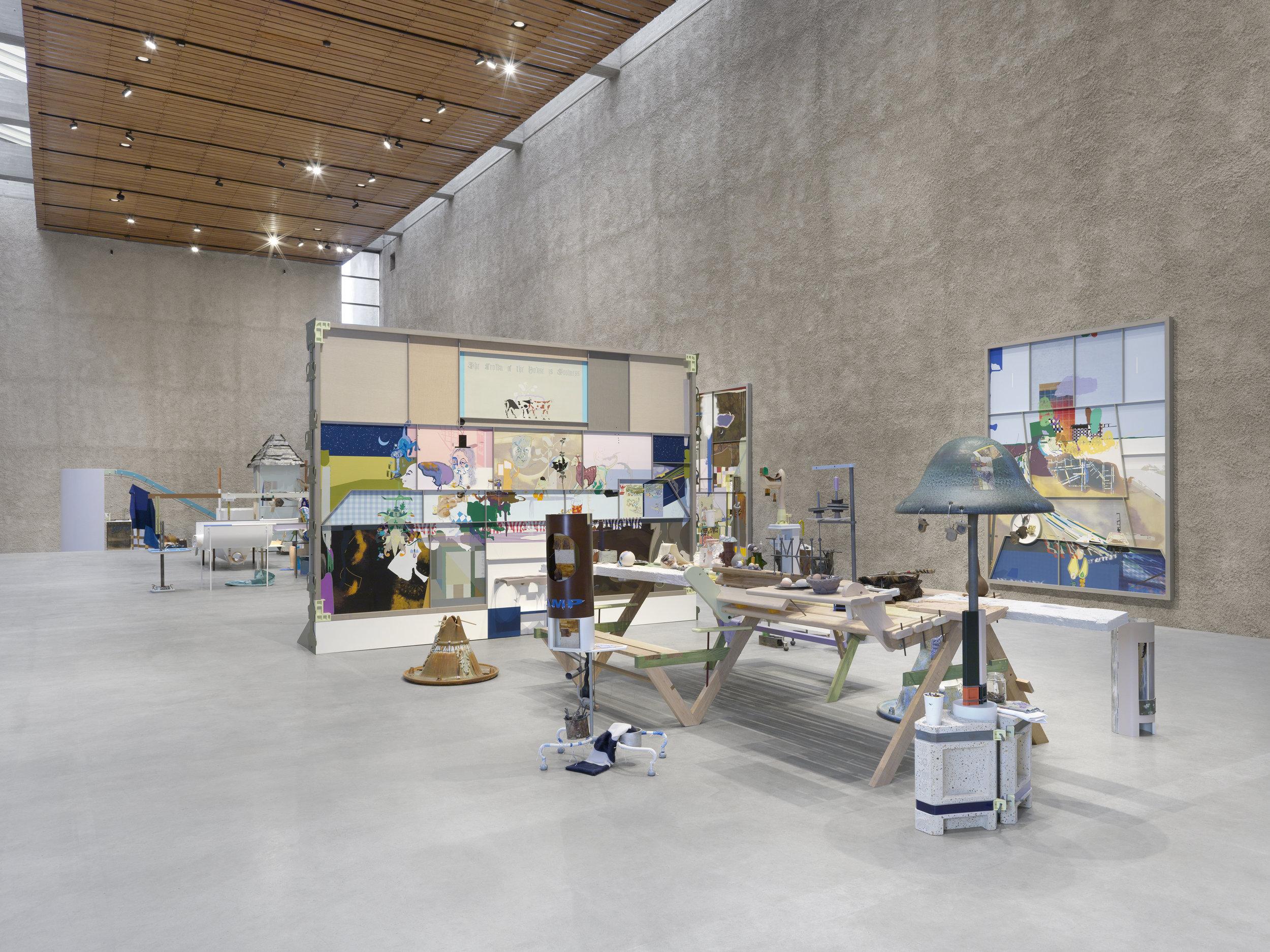 König Galerie, Berlin   Helen Marten   2019