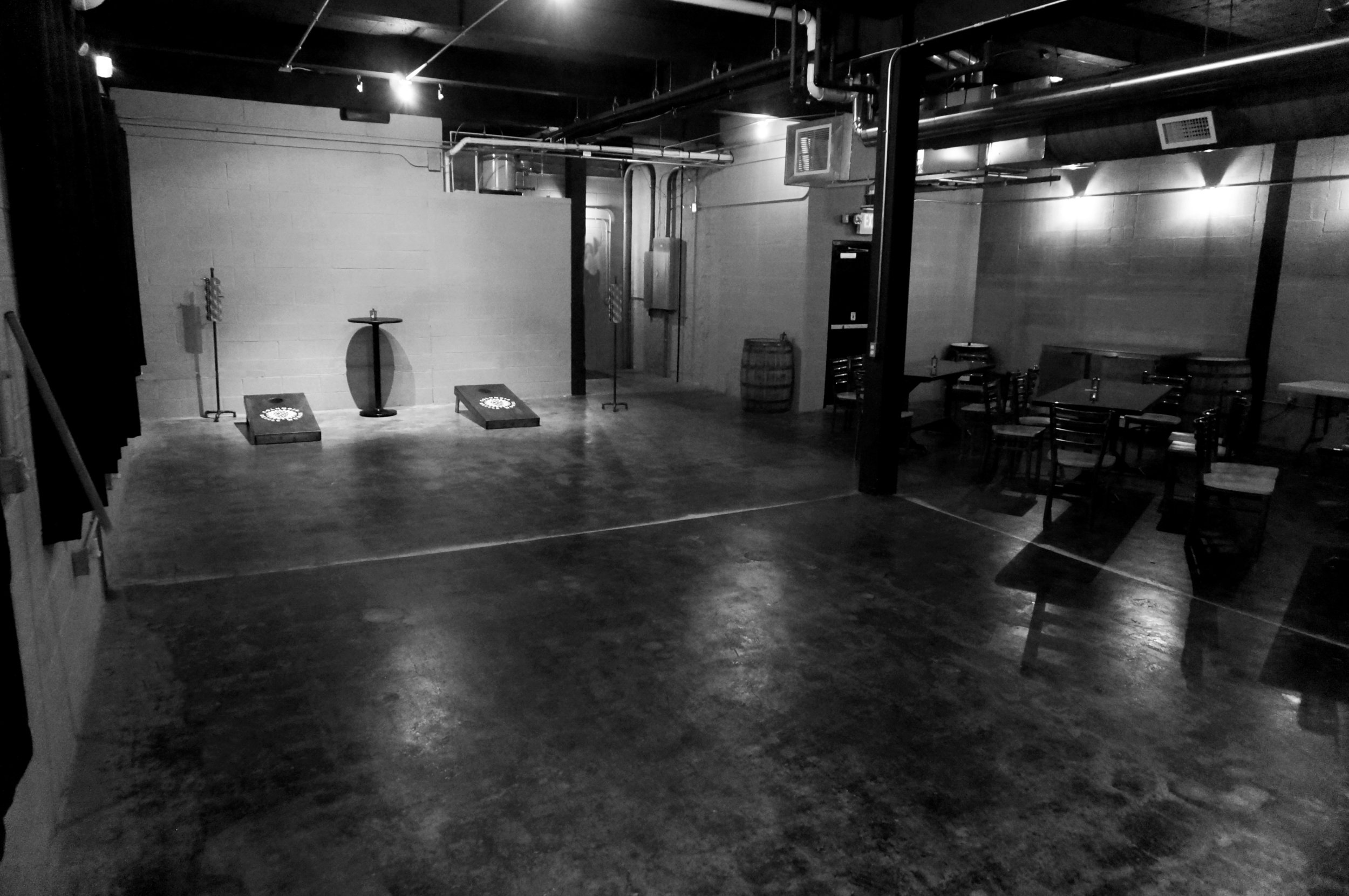 Cornhole Room sans decor