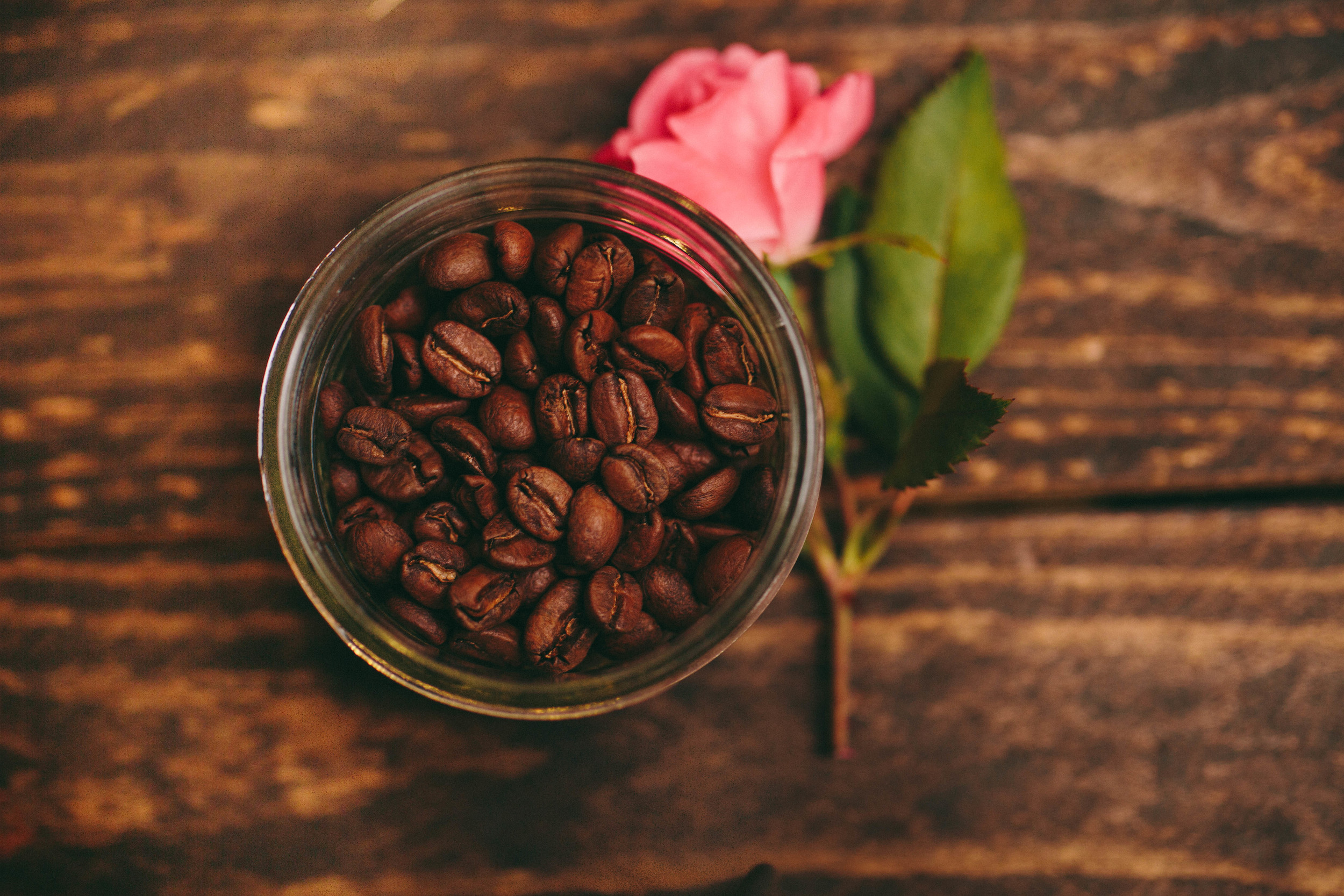 """Coffee Wedding Favor Idea from Backyard Beans Coffee Co. - """"The Perfect Blend"""""""