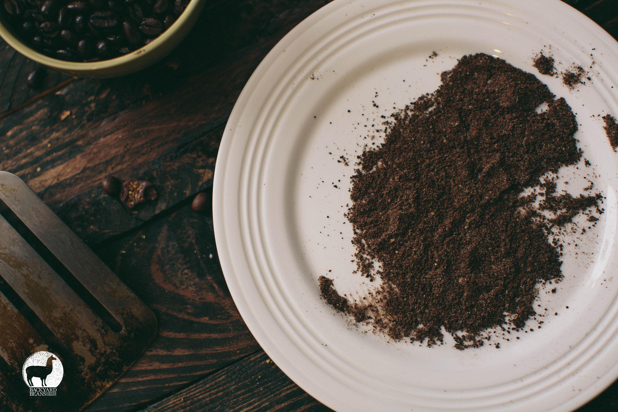 BACKYARD BEANS, COFFEE GRILL RUB.