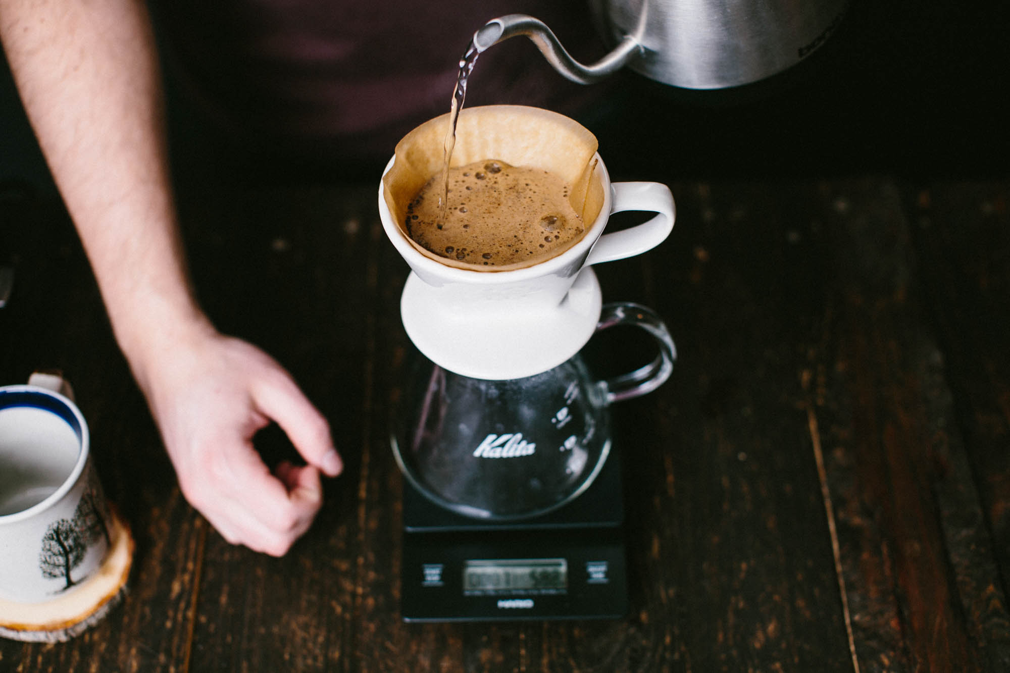 Pour Over Temperature and Directions, a Brew Guide