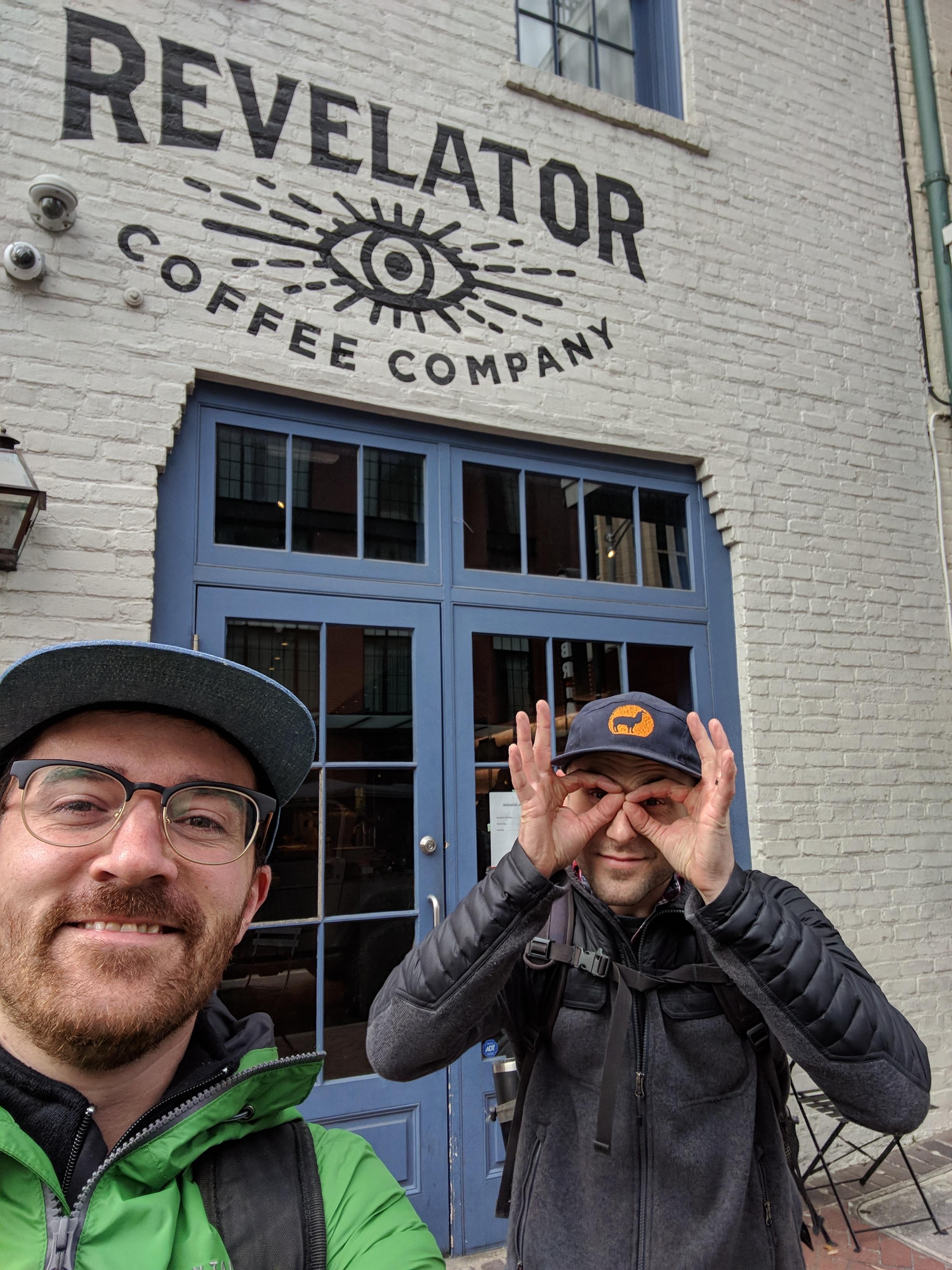 Bobby Wrigley and Matt Adams Backyard Beans Coffee Co.
