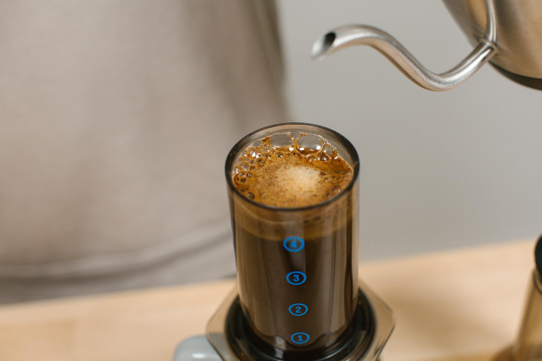Aero Press Coffee Guide Backyard Beans