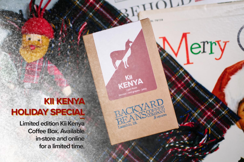Kenya Kii Holiday Coffee