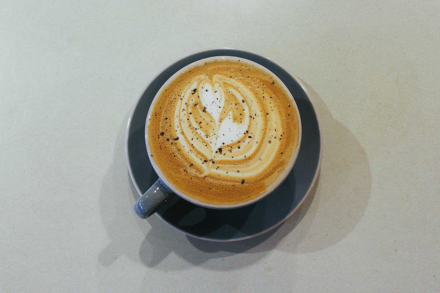 Black Cardamon Pepper Latte