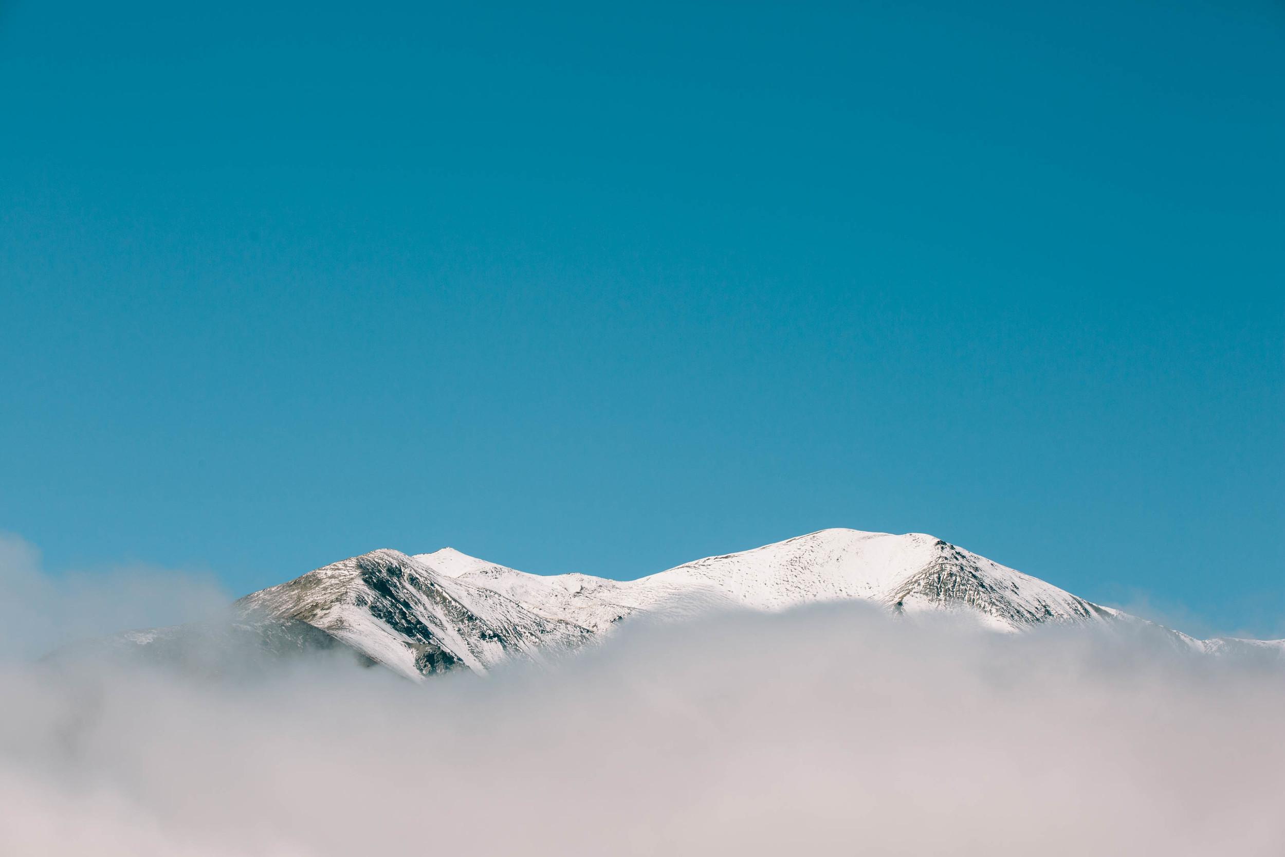Unknown peak, taken from Castle Hill